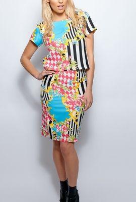 Paige Floral Stripe